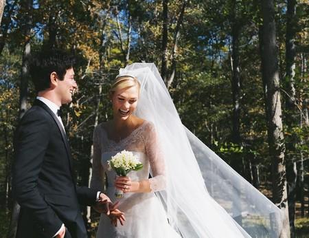 Karlie Kloss ya se ha casado: así ha sido el vestido de novia firmado por Dior que escogió para el gran día