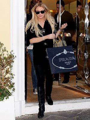 Las celebrities van de compras