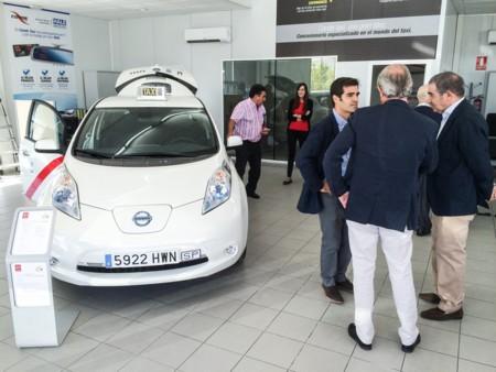 La flota de taxis 100% eléctricos de Madrid aumentará en 110 unidades del Nissan LEAF
