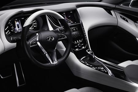 Infiniti Q60 Concept - interior