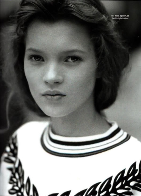 Kate Moss 14 años