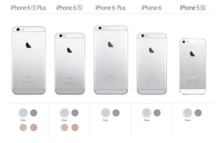 4c40b58a781 ¿Quieres un iPhone dorado? Pues tendrá que ser uno de los nuevos iPhone 6s  o 6s Plus