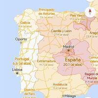 Google Maps ya muestra la capa de COVID-19 con información de casos nuevos por regiones