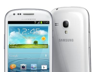 Samsung presenta oficialmente el Galaxy SIII Mini