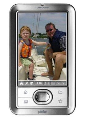 Imágenes de la palmOne LifeDrive