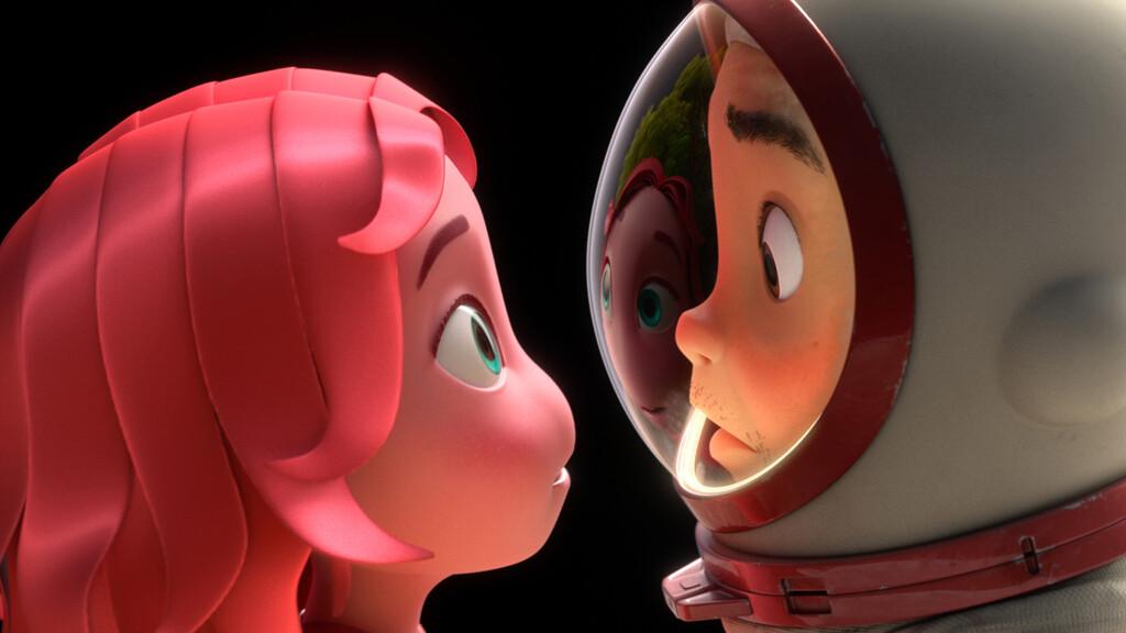 El creador de Toy Story, John Lasseter de Pixar, firma el cortometraje animado 'Blush' para Apple™ TV+