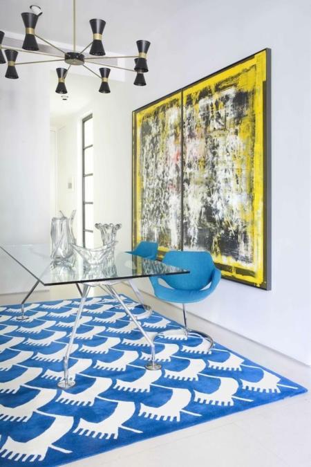 Alegra una estancia de tu casa con Jaime Beriestain y sus alfombras