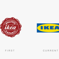 El antes y el después de los logos más míticos