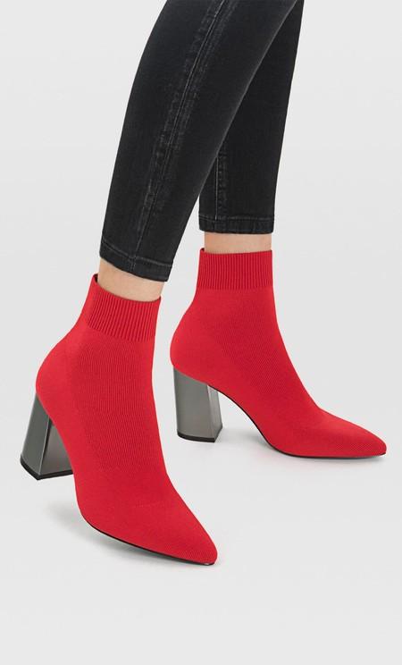 Botas Rojas Mujer 05