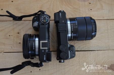 Sony NEX 6 y NEX 7