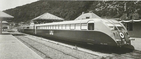Tren Automotor Bugatti