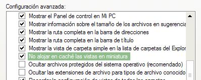 Pequeño Tip para Windows: olvídate de los Thumbs.db