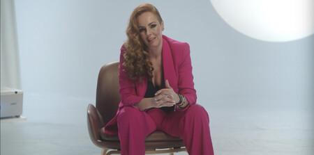 Rocío Carrasco traje