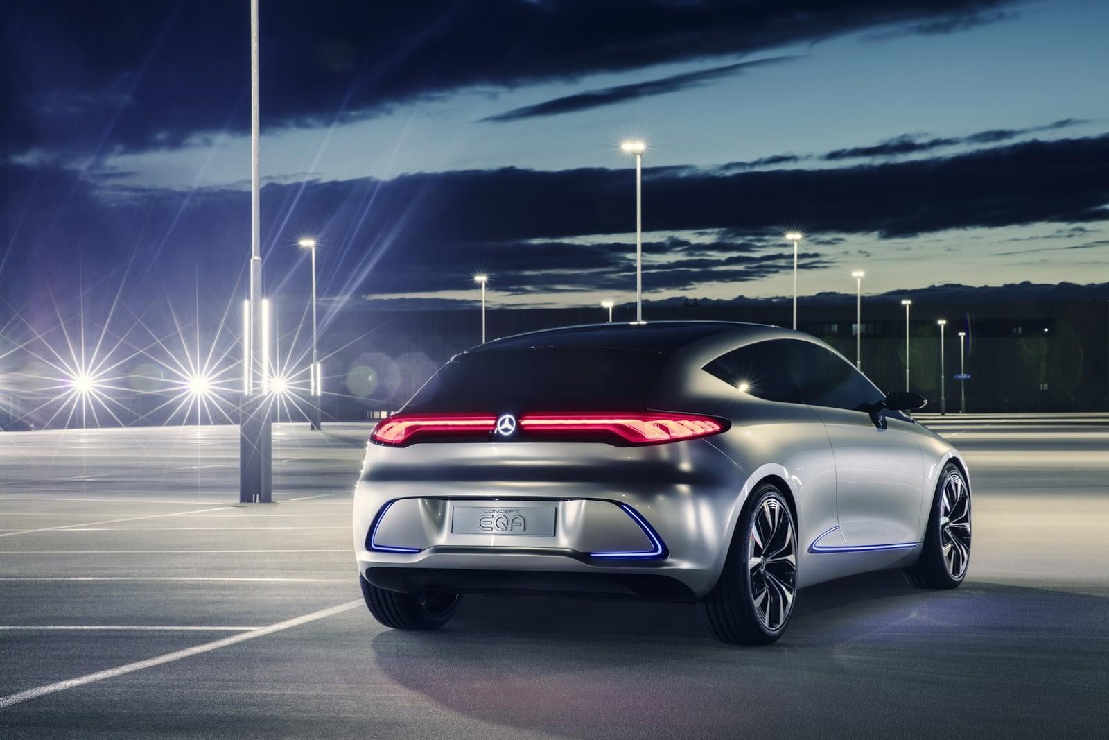 Foto de Mercedes-Benz EQ A Concept (11/15)