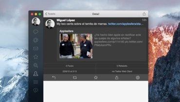 Tweetbot para Mac no descansa y se actualiza con más novedades