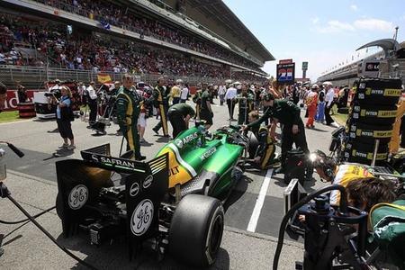Caterham continuará con motores Renault en 2014