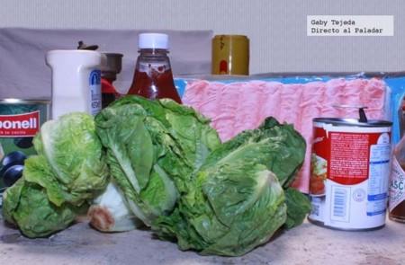 Ingredientes ensalada surimi agtc c m d a