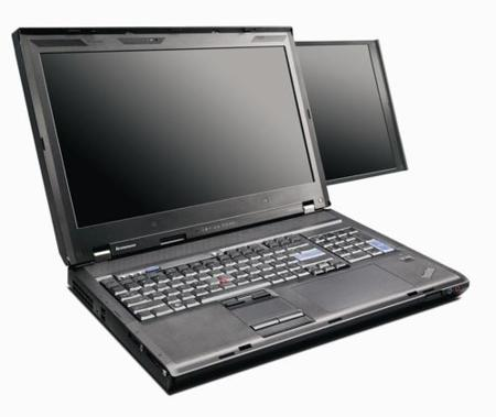 Lenovo actualiza su serie W700 con los ThinkPad W701ds y W701