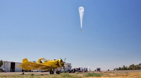Los globos de Project Loon se comportarán como una bandada de pájaros