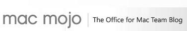 Mac Mojo, el blog de Microsoft sobre Apple