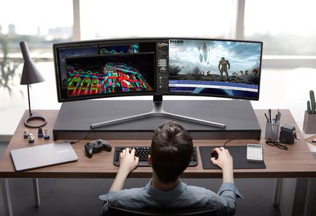 Samsung Monitor Curvo 49 Pulgadas Gamer 2