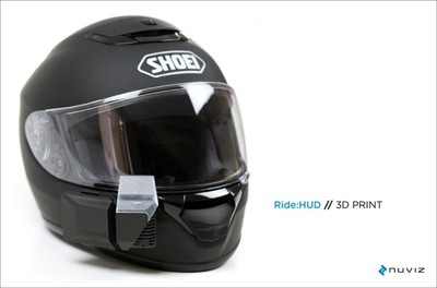 Nuviz, un visor de realidad aumentada para tu casco