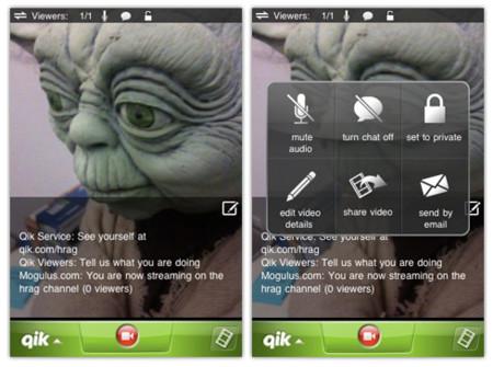 Qik para todos los modelos de iPhone
