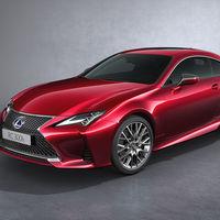 El Lexus RC se pone al día para el Salón de París, con ligeros cambios estéticos y retoques dinámicos