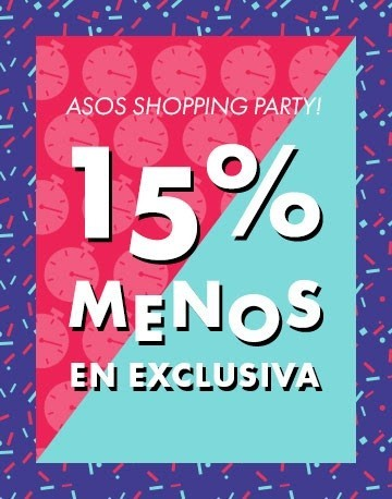 15 % de descuento en la Shopping Party de Asos, ¡solo esta noche!