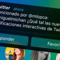 Twitter se estrena con las notificaciones interactivas de iOS 8