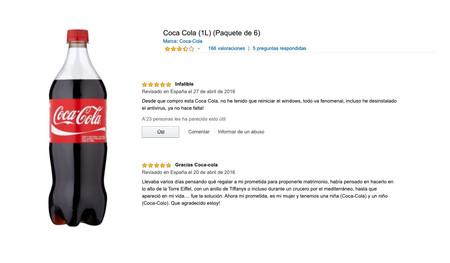 """""""Desde que compro Coca-Cola no reinicio Windows"""": estas y otras reviews graciosas que podemos encontrar en Amazon"""