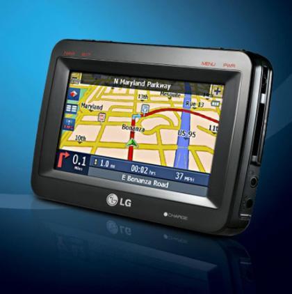 Navegador GPS LN790 de LG