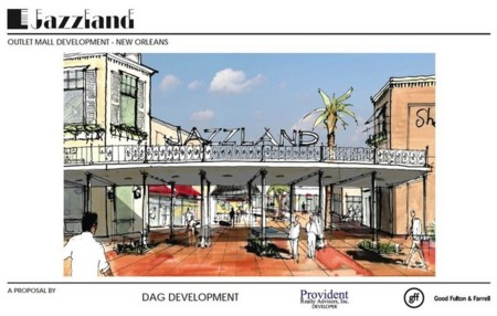 Jazzland Outlet Mall Concept
