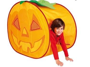 Casita calabaza de Halloween