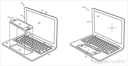 Usar el iPhone como Touchpad en un futuro portátil esclavo, la nueva patente de Apple