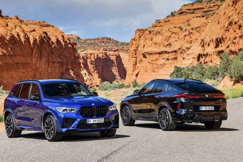 BMW X5 M y X6 M: para llevar a los niños  a la escuela a las 8 y destrozar el récord del circuito a las 10