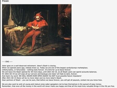 Deep Web joker