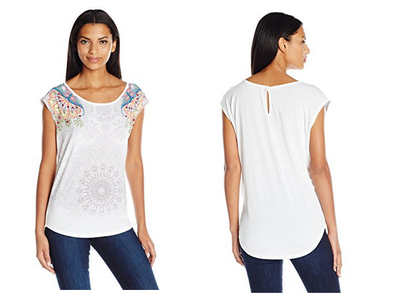 Amazon rebaja la camiseta Basic Vest de Desigual a 17,98 euros. Todas las tallas disponibles