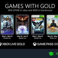 Juegos de Xbox Gold gratis para Xbox One y 360 de mayo 2021