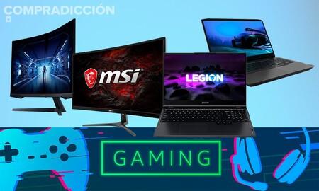 Ofertas gaming en portátiles Lenovo y monitores Samsung y MSI: ahorra estrenando equipo el próximo curso con estos descuentos de Amazon