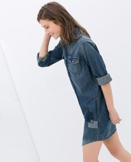 Tendencias low-cost Primavera-Verano 2014: denim de pies a cabeza