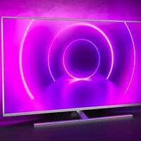 Ahorra 100 euros estrenando smart TV con Ambilight para esta Eurocopa: Philips 43PUS8505/12 por 499 euros esta semana en Amazon