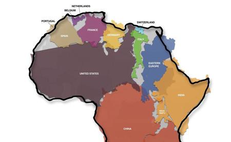 El verdadero tamaño de África, explicado en este sensacional mapa