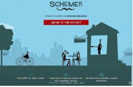 Schemer, la apuesta de Google para competir con Foursquare
