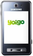 Disponible Renuevo online y Samsung F480, táctil con Yoigo