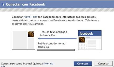 Ya puedes conectarte a ¡Vaya Tele! con Facebook