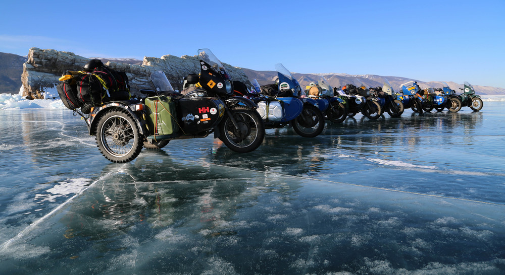 The Ice Run Hilera Ural
