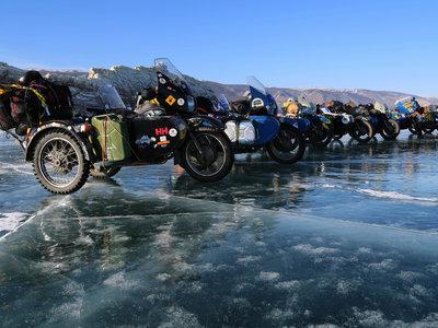 The Ice Run, o por qué jugarte la vida en una moto vieja puede ser la mejor decisión de tu vida