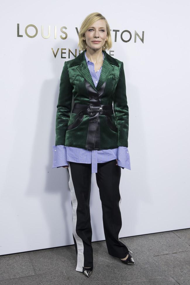 louis vuitton paris celebrities vendome Cate Blanchett