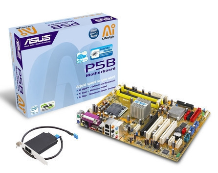 ASUS P5B/TeleSky, con funciones Skype